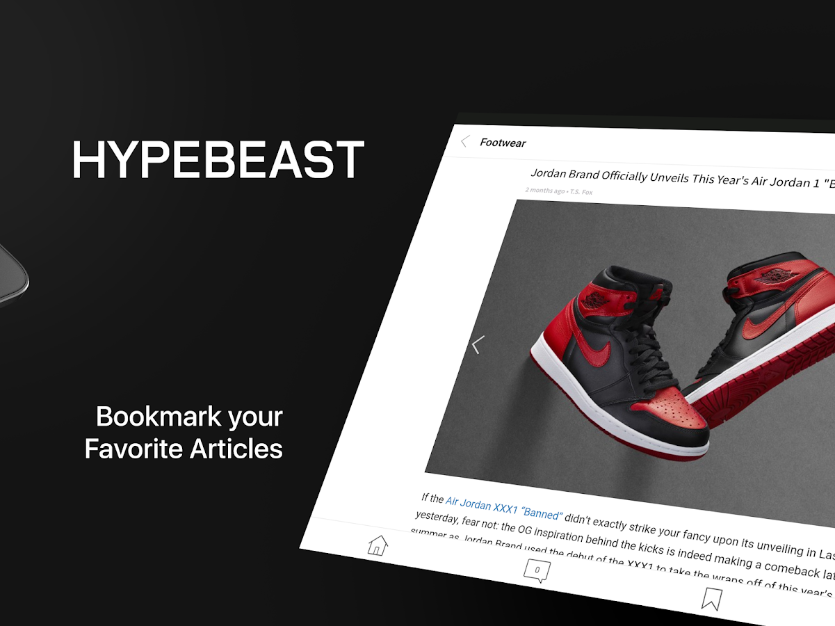 HYPEBEAST-News, Fashion, Kicks- screenshot
