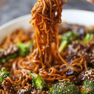 Beef and Broccoli Ramen Stir Fry.