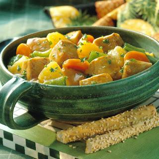 Pepper & Pineapple Pork Stew.