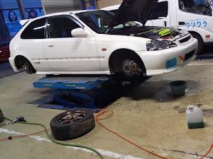 シビックタイプR EK9 タイプR Xのカスタム事例画像 ホンダ乗りのトヨタ(旧ポカちゃん)さんの2021年04月28日20:58の投稿