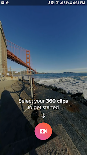 V360 - 360 video editor – Vignette de la capture d'écran