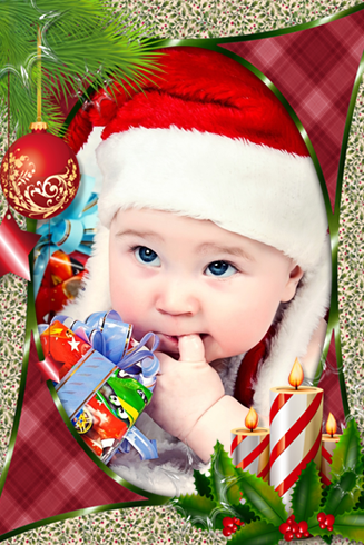 Merry Christmas Frames Photo