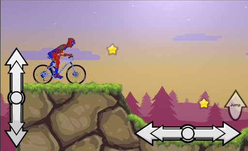 Mountain Hill Climb Bike Racing Heroes Rider Cycle  screenshots 1