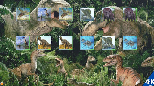 Dinosaurs 4kids memory game