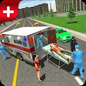 Accident City Ambulance Rescue Simulator 19 icon