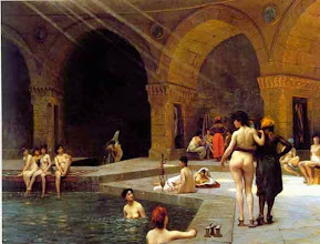 Photo: Χαρέμι Jean-Leon Gerome, Harem baths