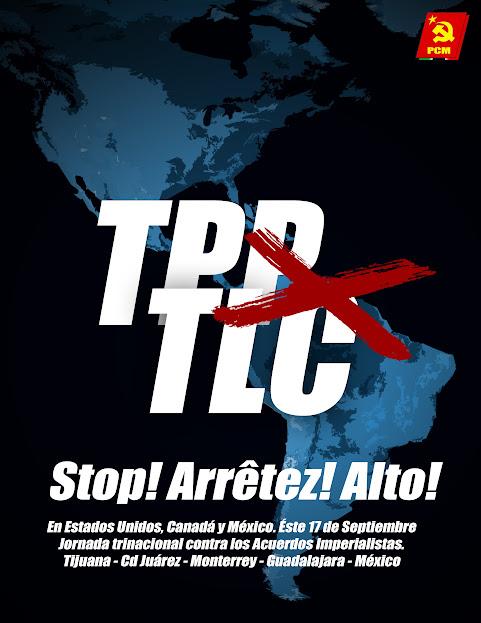 Jornada trinacional contra el TLC y el TPP