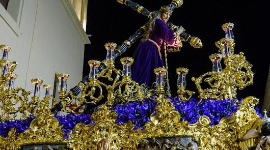 Talla de Nuestro Padre Jesús Nazareno en una imagen de archivo.