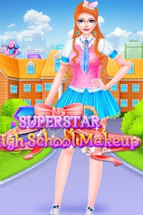 Superstar high school makeup Screenshot