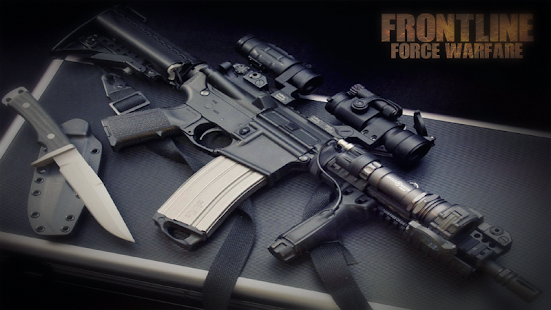 Frontline Force Warfare: FPS Shooting Games 2019 Capture d'écran