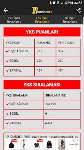 YKS Puan Hesaplama ve Başarı Sıralaması - náhled