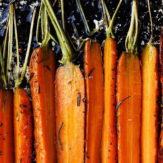 Coriander Roasted Carrots.