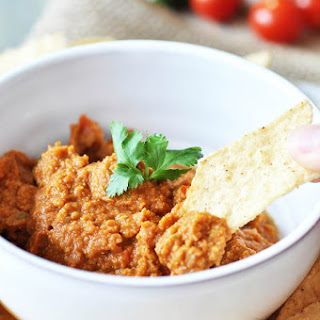 Spicy Oil-Free Mexican Hummus
