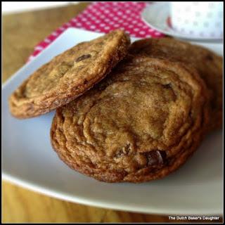 Sea Salt and Dark Chocolate Chip Cookies.