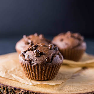 Whole Wheat Double Chocolate Black Bean Muffins.