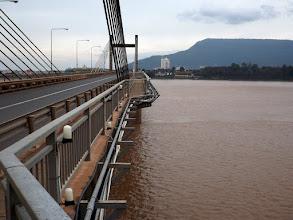 Photo: Brücke über den Mekong in Pakse