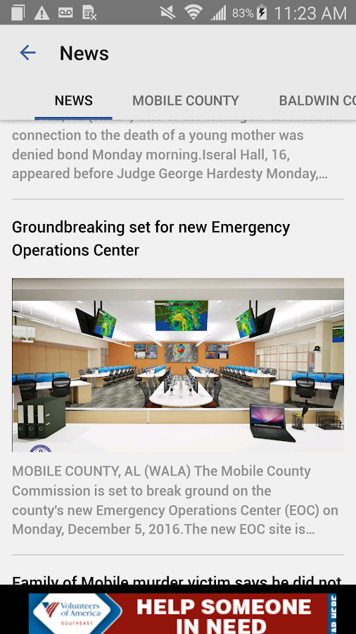 FOX10 WALA Mobile News Weather- screenshot