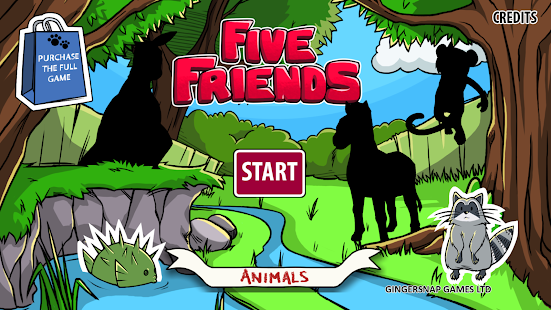 Five Friends Animals - Toddler- screenshot thumbnail
