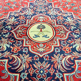 Mosque Carpet by Mulawardi Sutanto - Instagram & Mobile Android ( mosque, android, carpet, madina, travel )