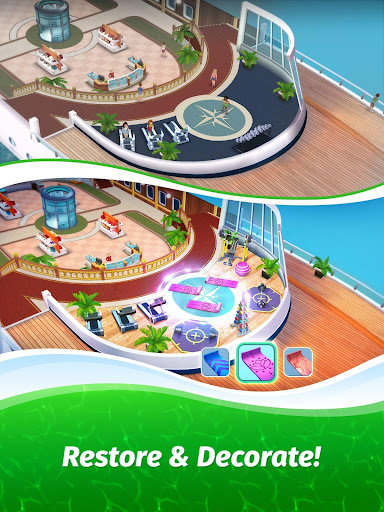 The Love Boat: Puzzle Cruise u2013 Your Match 3 Crush! apkpoly screenshots 15