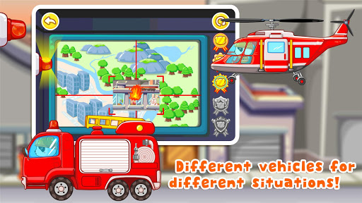 Little Panda Fireman - screenshot