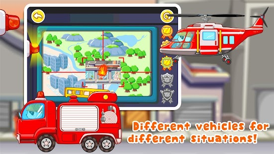Little Fireman - Free for kids- screenshot thumbnail