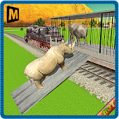 Transport Train: Zoo Animals