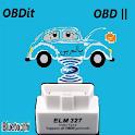 OBDit OBD 2 كشف و مسح أعطال السيارة باللغة العربية icon