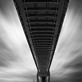 The Other Side of the Bridge by Ocky  Dwi putranto - Buildings & Architecture Bridges & Suspended Structures ( suramadu, bridge )