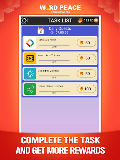 Word Peace -  New Word Game & Puzzles screenshots 21