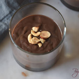 Keto Chocolate Pudding.