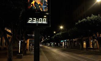 En imágenes: primera noche de toque de queda en Almería