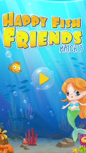 Happy fish ocean match 3 mania android apps on google play for Fish mania help