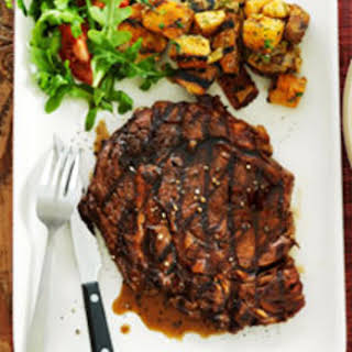 Grilled Ribeye With Coca-Cola© Reduction.