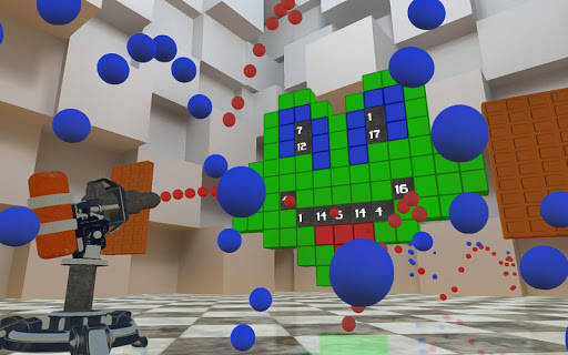 RGBalls u2013 Cannon Fire : Shooting ball game 3D apkpoly screenshots 13