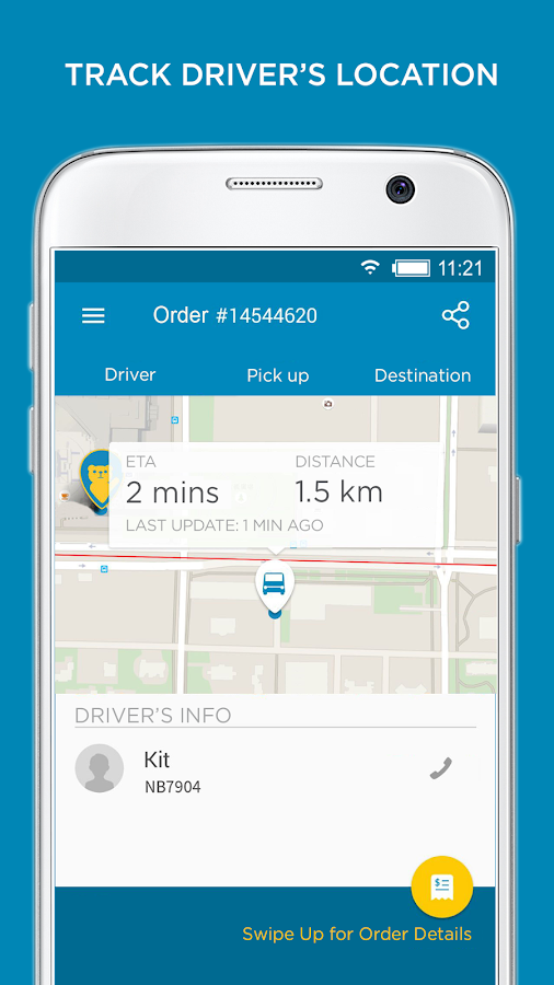 GoGoVan - Your Delivery App- screenshot