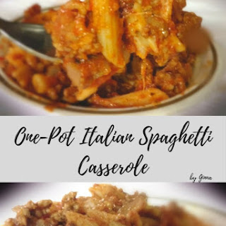 One-Pot Italian Spaghetti Casserole Recipe