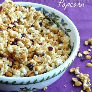 Cranberry Caramel Popcorn