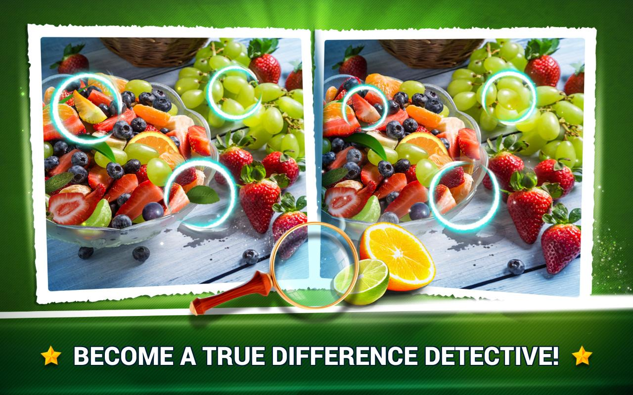 Find the Difference Fruit – Find Differences Game- screenshot
