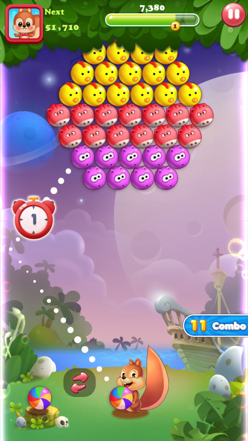 Bubble Shoot Pet- screenshot