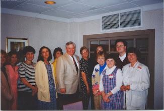 Photo: Northeast Teachers with Rep. Bill Owens