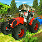Tractor Farming Crop Harvest Driving Game Icon