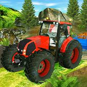 Tractor Farming Crop Harvest Driving Game