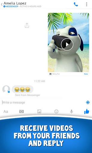 Talking Tom for Messenger screenshot 12