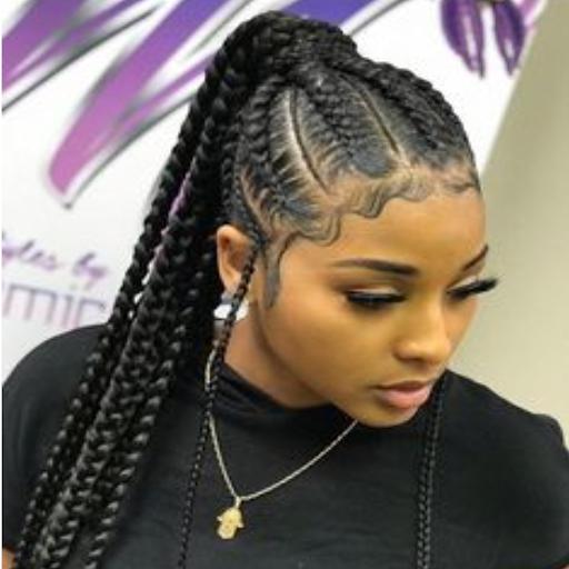 Braids Ponytail Hairstyles 5.4.1 screenshots 1