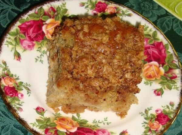 Rhubarb Coffee Cake Recipe