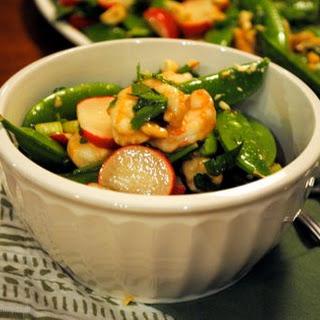 Shrimp and Snow Pea Salad