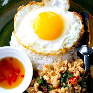 The Hirshon Thai Basil Pork – ผัดกะเพรา.