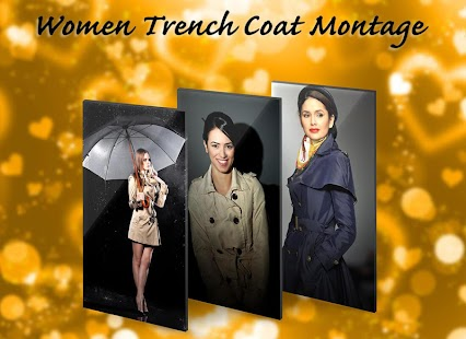 Women Trench Coat Montage - náhled