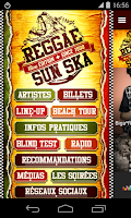Screenshot of Reggae Sun Ska Festival 2015